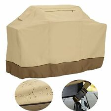 2/4 Hooded Burner BBQ Cover Barbecue Rain UV Resistant Grill Protection Outdoor