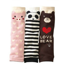 Baby Kids Soft Cotton Leg Warmers Cute Cartoon Legging Stockings