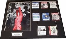 Liverpool - 1965 FA Cup Winners Mounted Display Signed By Ron Yeats