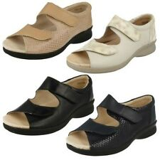 Ladies Easy B Casual Touch fastener Sandals 'Bliss'
