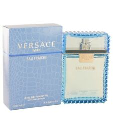 Versace Man Eau Fraiche Cologne Men Fragrance Eau De Toilette .17 1 1.7 3.4