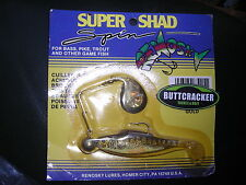 Renosky Super Shad Lure  ( 1/4 oz Gold Colour )