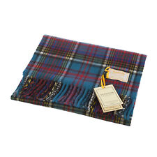 Dunedin 100% Cashmere Luxury Scottish Tartan Big Scarf
