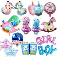 Baby Shower Foil Mylar Balloon Birthday Party Decorations First Party Supplies