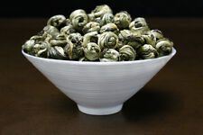 Hand Roll 100% Organic Supreme King grade Jasmine Dragon Pearl Chinese GREEN TEA