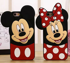 3D Cute Cartoon Soft Silicone Case Back Cover Skin For Various Mobile Phones