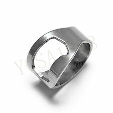 Creative Stainless Steel Finger Ring Beer Bottle Opener Beer Bar Tool