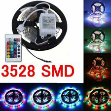 3528 SMD Stripe 5M 300 LED Strip Light RGB Ribbon Tape Roll For Home Xmas Decor