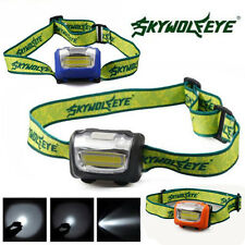 New 3W LED 500Lumens Mini Headlight Headlamp Flashlight Lamp Head Torch Camping