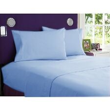 HOTEL COLLECTION BEDDING ITEMS 1000TC EGYPTIAN COTTON SELECT SIZE&ITEM-SKY BLUE