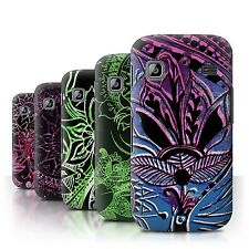 STUFF4 Back Case/Cover/Skin for Samsung Galaxy Gio/S5660/Henna Paisley Flower