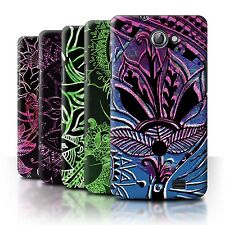 STUFF4 Back Case/Cover/Skin for Samsung Galaxy R/I9103/Henna Paisley Flower