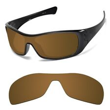 Optico Replacement Polarized Lenses for Oakley Antix Sunglasses Sport Brown