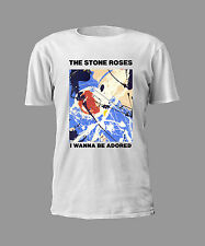 THE STONE ROSES I WANNA BE ADORED MENS T-SHIRT MADCHESTER BROWN SQUIRE RENI MANI