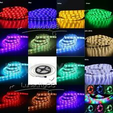 3528 5050 5630 SMD Stripe 5M 300LED RGB White LED Strip Light Tape XMAS Lights