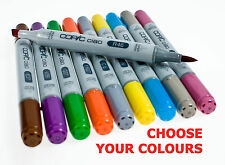Copic Ciao Twin Tip Marker Pens ( All Colours - Code E, G, R )