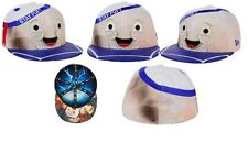 New Era Ghostbusters Marshmallow Man character face 59fifty fitted cap Stay Puft