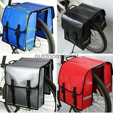 30L Double Panniers Bag Cycle Cycling Bike Bicycle Rear Rack Carrier Pouch Set
