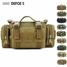 MOLLE Panel 3 Functions Waist Shoulder Messenger Pack Ultra-light Tactical Bag