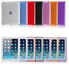 Color Crystal Soft TPU Transparent Silicone Clear Case Cover For  iPad mini 4