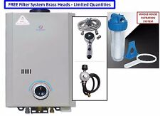 2017 Eccotemp L7 Portable Tankless Water Heater Outdoor Shower + Filter System