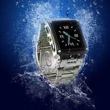 "New Waterproof Unlocked W818 1.5"" Touch Quad Band Watch Cell Phone Bluetooth"