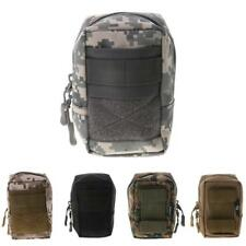 Nylon Tactical Military Waist Bag Molle Pouch Pack for Outdoor Hiking Camping