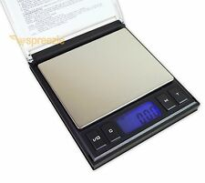 Digital Scale CD Jewelry Case 1000g x 0.1g / 2000g x 0.1g Weigh Tare Calibrate