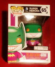FUNKO POP! THE JOKER BATMAN SUPER HEROES~LOOTCRATE EXCLUSIVE #65~ Figure Toy