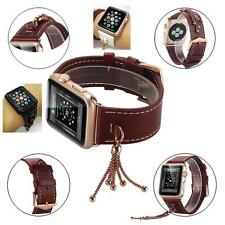 Fashion Tassels Genuine Leather Watch Band Strap For iWatch Apple Watch series 2