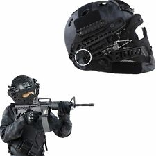 Multi-function Tactical Airsoft Paintball CS Games Fast Helmet Mask Googles