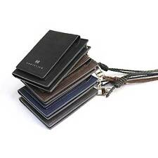 Leather ID Credit Card Holder Case Business Card Case Card Wallet