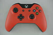 Microsoft Xbox One Wireless Controller Matte Red Custom LED Mod