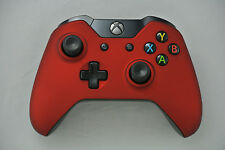 Microsoft Xbox One Wireless Controller Soft Touch Red Custom LED Mod