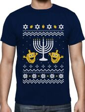 Ugly Christmas Hanukkah Sweater Happy Holidays T-Shirt Gift