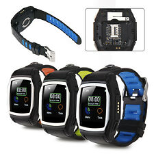 IP57 GPS NFC SMS Bluetooth Smart Sports Wrist Watch Band SIM Card GT68 For Phone