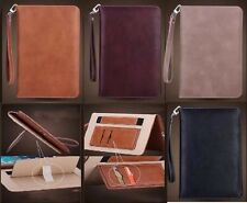 New Genuine Soft Leather Smart Case Stand Magnetic Cover for APPLE  iPad 2 3 4