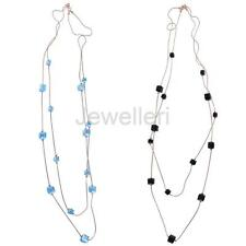 Long Beading Pendant Necklace Sweater Decoration Chain Women Fashion Jewelry