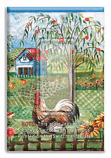 Rooster Farm Chicks Light Switch Plate Wall Cover  w/ Rocker Switch  Outlet