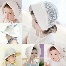 Toddler Baby Girls Princess Lace Hollow Hat Cap Outdoor Sunhat Outdoor Hats