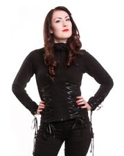 Poizen Industries Angel Hoodie Jacket Gothic Alternative Corset Punk Goth Hoody
