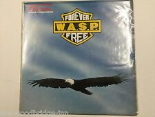"""W.A.S.P. FOREVER FREE (12CLS 546) POSTER SLEEVE 12"""" AUTOGRAPH ETCHED SINGLE GGF"""