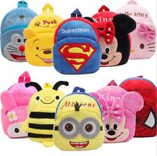 Children Boys Girl Cartoon Backpack Schoolbag Shoulder Bag Rucksack good bag