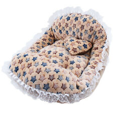 New Pet Bed Cushion Mat Pad Dog Cat Cage Kennel Crate Warm Cozy Soft House Pad
