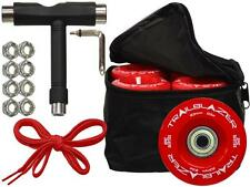 Epic Outdoor Quad Speed Roller Skate Wheels Deal in Red  W/ Bag, Bearings, Tool