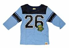 NWT HARAJUKU MINI 'BOYS' BY GWEN STEFANI FOOTBALL TEE LONG SLEEVES IN BABY BLUE