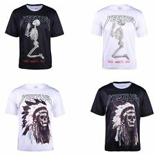 Hot Yeezus Indian Skull Praying Skeleton Kanye West Tour T-shirts Cool Clothes