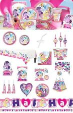 NEW My Little Pony Party Birthday Supplies Tableware Balloons Decorations Favors