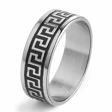 Stainless Steel Ring Mens Jewelry Antique Size 8/9/10/11/12/13/14 Wedding