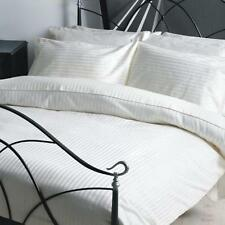 (WHITE STRIPE) 1000TC COMPLETE BEDDING COLLECTION 100% EGYPTIAN COTTON ALL SIZE